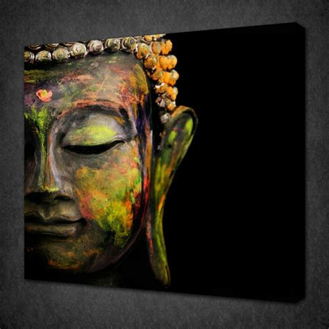 free shipping gold buddha oil painting wall art paintings online buy wholesale buddha canvas art from china buddha