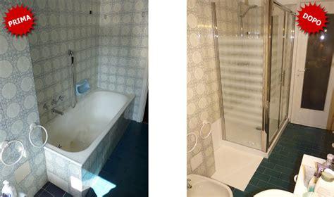 sostituzione vasca in doccia quanto costa sostituire la vasca da bagno con doccia