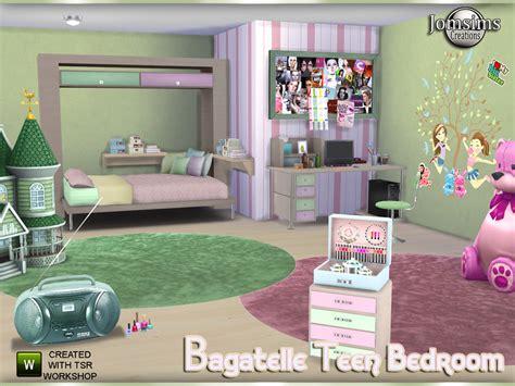 sims 4 cc furniture jomsims bagatelle teen bedroom