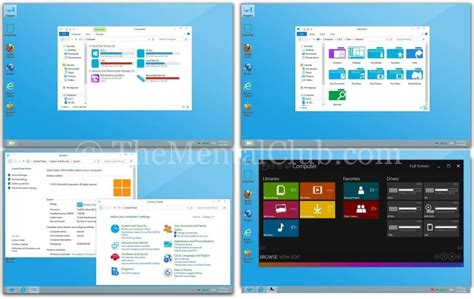 theme windows 10 pack windows 10 theme pack for windows 7 and windows 8 pc the