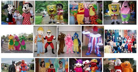 Tenda Ultah Anak dekorasi 3d ulang tahun eo ultah anak baloon badut kostum