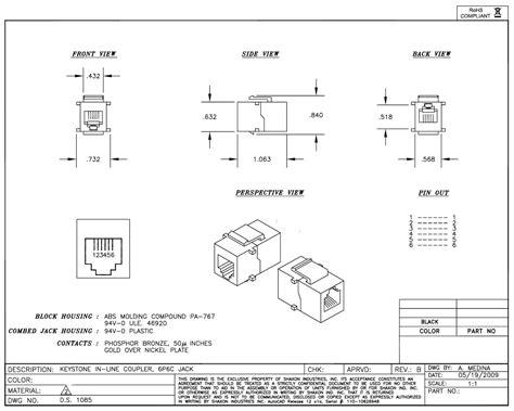 rj12 wiring wiring diagrams schematics