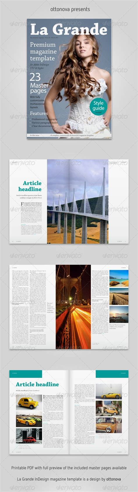 adobe indesign magazine template free 11 best magazine images on brochures adobe
