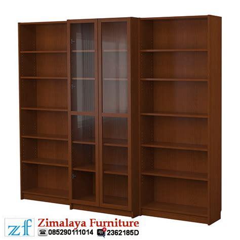 Rak Buku Perpustakaan Mini rak buku kayu perpustakaan zimalaya furniture