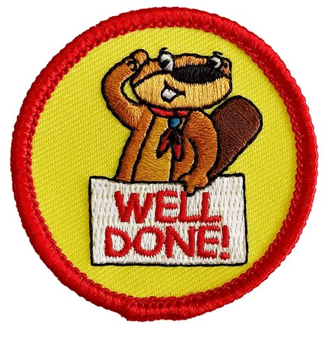 Well Done well done beavers tolley badges