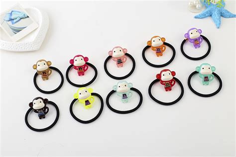 Jepit Rambut Set Sweet Hairpins Set For 1 Set 10 Pcs 4 monyet aksesoris promotion shop for promotional monyet