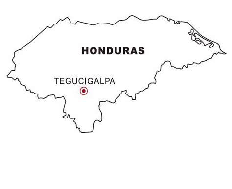 panama map coloring page honduras map coloring color area