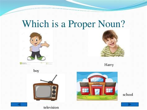 With The Proper proper nouns and common nouns