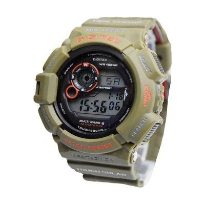 Jam Tangan Digitec Dg2102 Light Green harga digitec dg2028tgrnsl green jam tangan pria