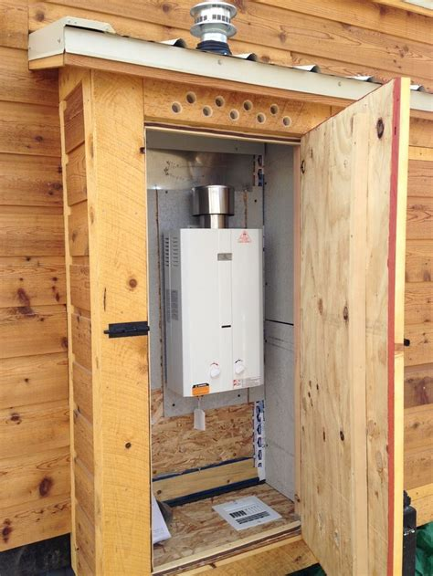 Tiny House Where To Put The Tankless Hot Water Heater Tiny House Propane Heater