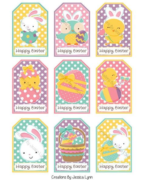 printable easter labels printable easter gift tags by creationsbyjlynn on etsy