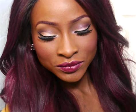 hair color dark skin tone the gallery for gt dark red to black ombre hair
