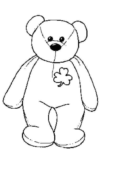 beanie babies coloring page free coloring pages of beanie boo pictures