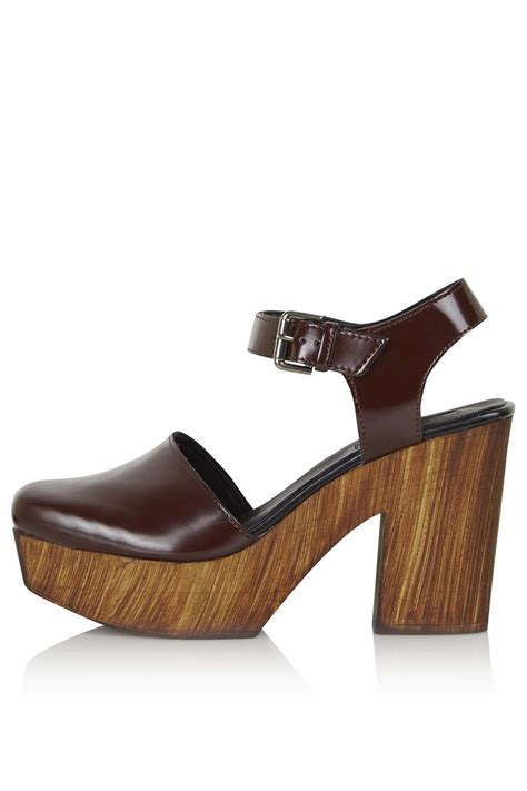 platform clogs for smile wooden platform clogs topshop europe