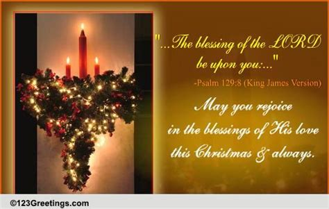blessings   lord  christmas  religious blessings ecards