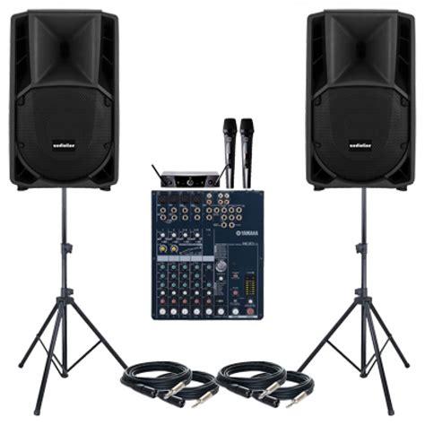 Sound System Audoorindoor Paket 15 Inchi jual paket sound system meeting 1