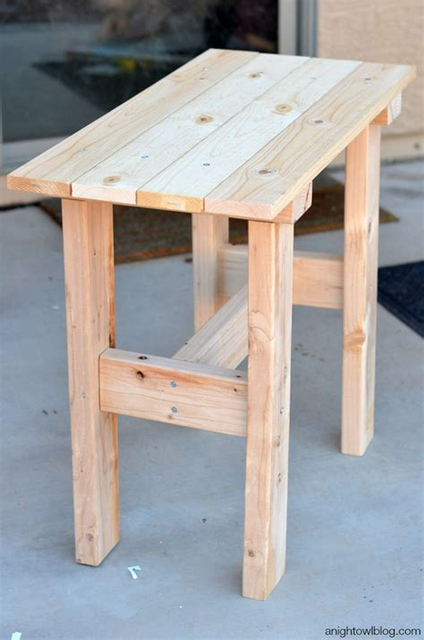 diy small table build a small patio table brokeasshome com