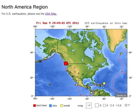 earthquake washington state issues on call