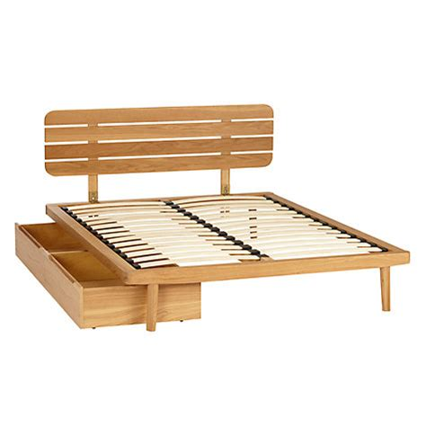 king slatted bed frame buy house by john lewis bow slatted headboard bed frame