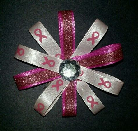 diy cancer ribbon ornaments 189 best breast cancer crafts images on breast cancer awareness breast cancer