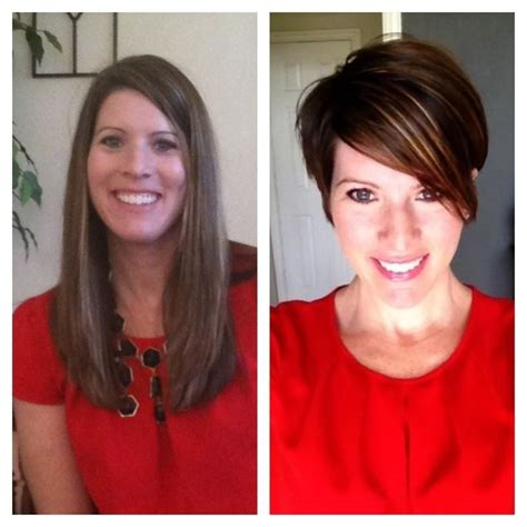 before and after long to short hair 26 best short haircuts for long face popular haircuts