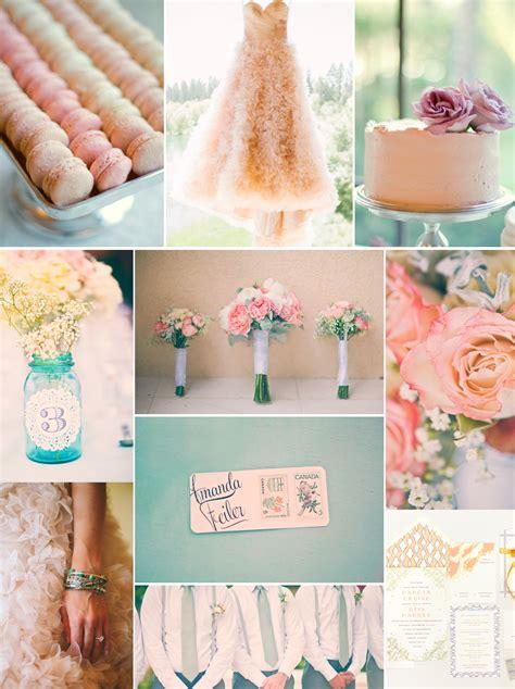 romantic wedding color palette peach lilac sage