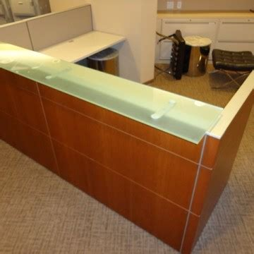 Knoll Reception Desk Used Reception Desks And Area At Cubeking