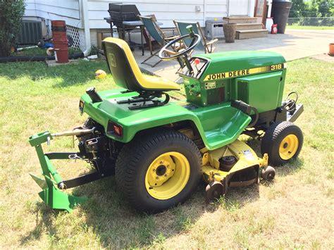 garden tractor attachments deere 318 potato plow deere deere 318 and tractor