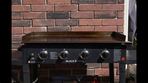 Grill Re blackstone grill re seasoning