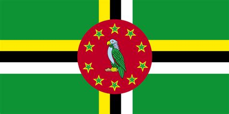 dominica flag  description