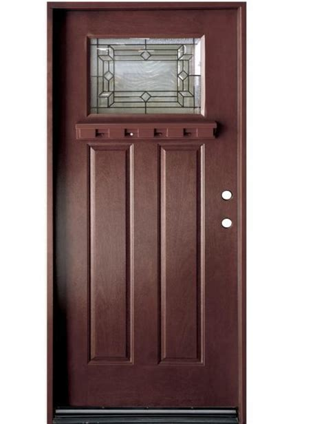 36 front door 36 quot stained craftsman exterior front door home center outlet