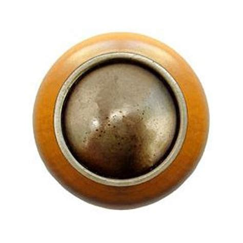 Notting Hill Knobs by Notting Hill Classic 1 1 2 Inch Diameter Antique Brass