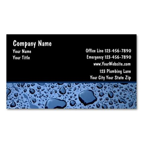 great papers business card template 17 best images about plumbing plumber business cards on