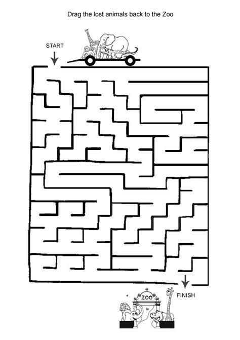 printable maze game for preschoolers 17 best images about road trip on pinterest carnival