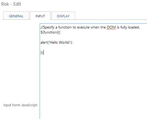 Document Ready Function Javascript