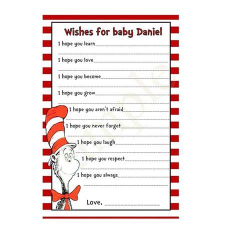dr seuss baby shower printables dr seuss hat printable dr seuss printable wishes for