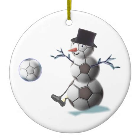 soccer lovers christmas gifts ornament zazzle