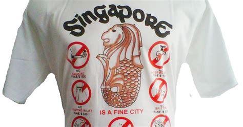 Kaos Singapore Warna Murah kaos singapore kaos singapore murah cocok untuk oleh