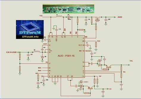 auo p  service manual diagrama schematics