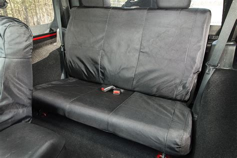07 jeep commander seat covers rugged ridge ballistic rear seat cover for 07 18 jeep
