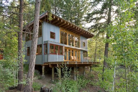 traditional log cabin plans charlotte rustic cabin designs detached garage in front of house creating a carport a