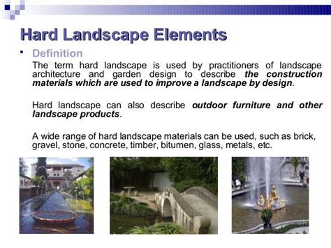 Landscape Architecture Vocabulary Week 8 Landscape Architecture