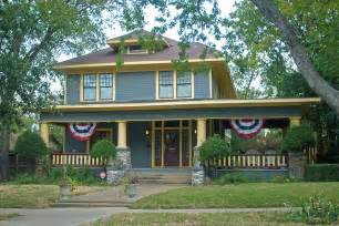 american foursquare style house fairmount ft worth