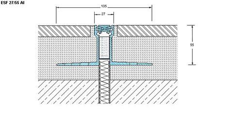 giunti di dilatazione per pavimenti joint srl prodotti esf 27 al