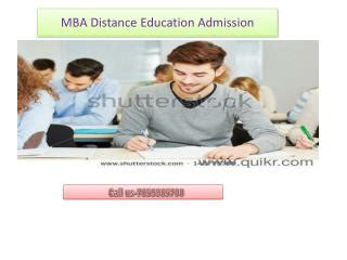 Mba In Safety Management Distance Learning by Ppt Distance Mba Incorporating Academic Rigor Into