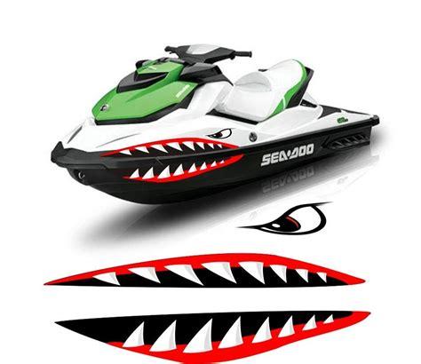 Kawasaki Jet Ski Sticker Kit by Sea Doo Yamaha Kawasaki Honda Polaris Jet Ski 2 3 Pwc