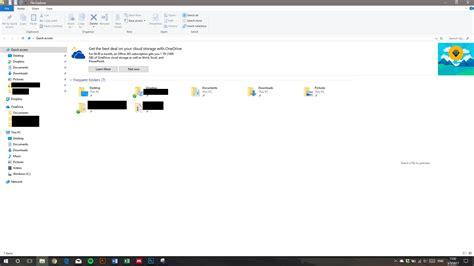windows 10 no muestra imagenes windows 10 muestra publicidad de onedrive en el explorador