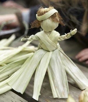 corn cob doll directions resourceful craft corn husk doll