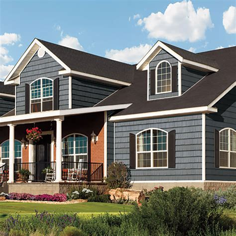 Vinyl Cedar Shake Siding Colors Certainteed Northwoods Single 9 Rough Split Wimsatt
