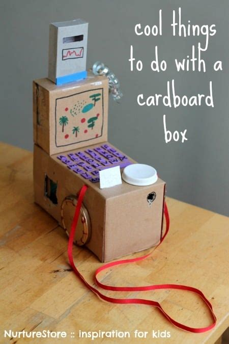 box craft for cardboard box craft ideas images